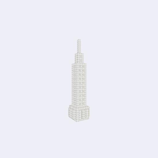 Minecraft Empire State Building